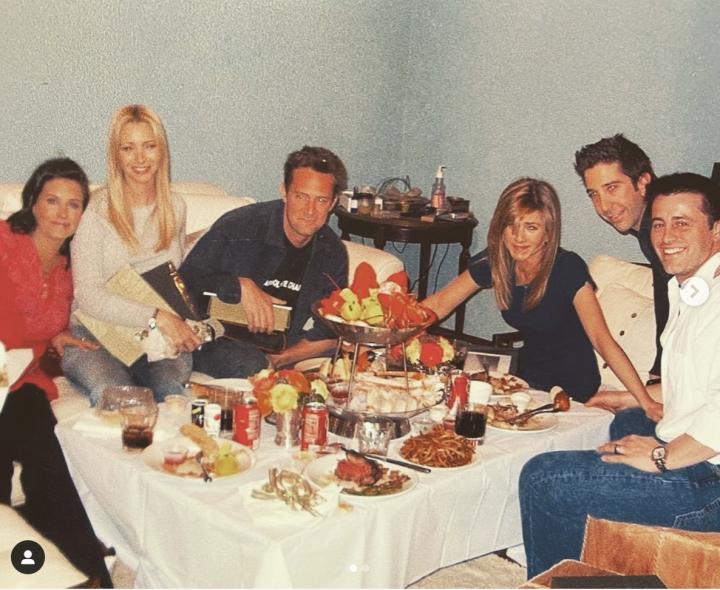 Dernier jour de tournage de Friends