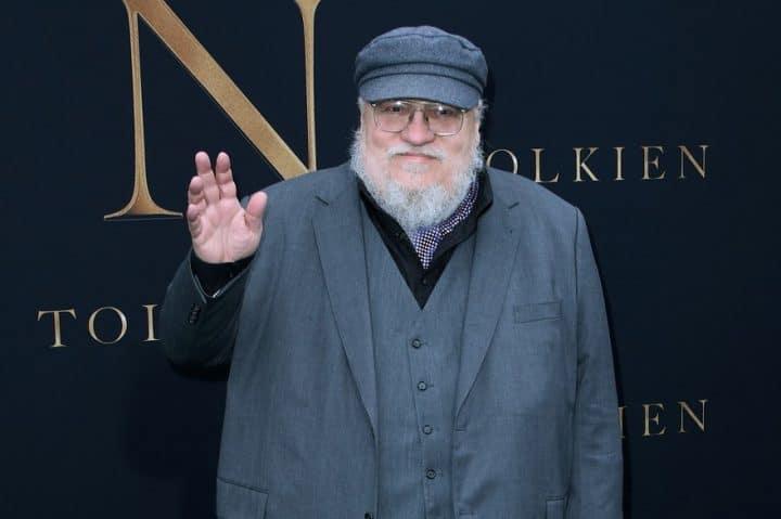George RR Martin auteur de Game of Thrones