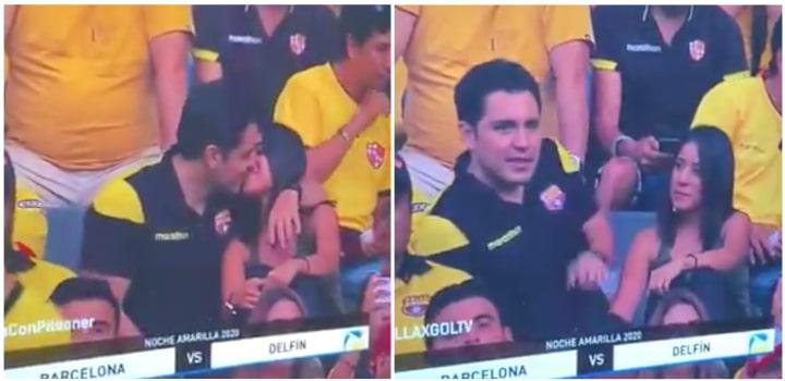 Infidélité : il se fait griller en train de tromper sa femme devant un stade tout entier