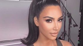 Kim Kardashian enflamme la toile