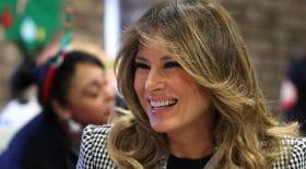 La robe Luxueuse de Melania Trump pour le Nouvel An
