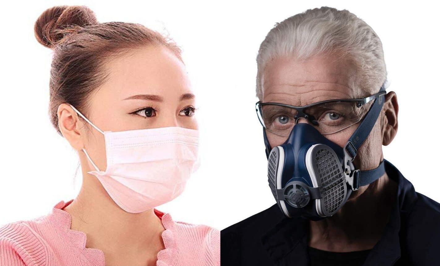 masque tissu virus