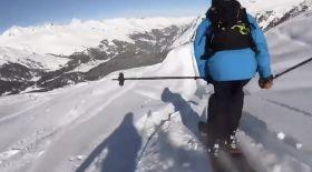 ski skieur chute