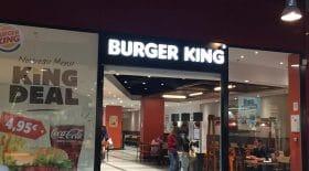 Burger King Euralille : vol dos à dos