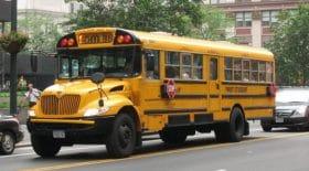 bus scolaire chauffeur enterrement