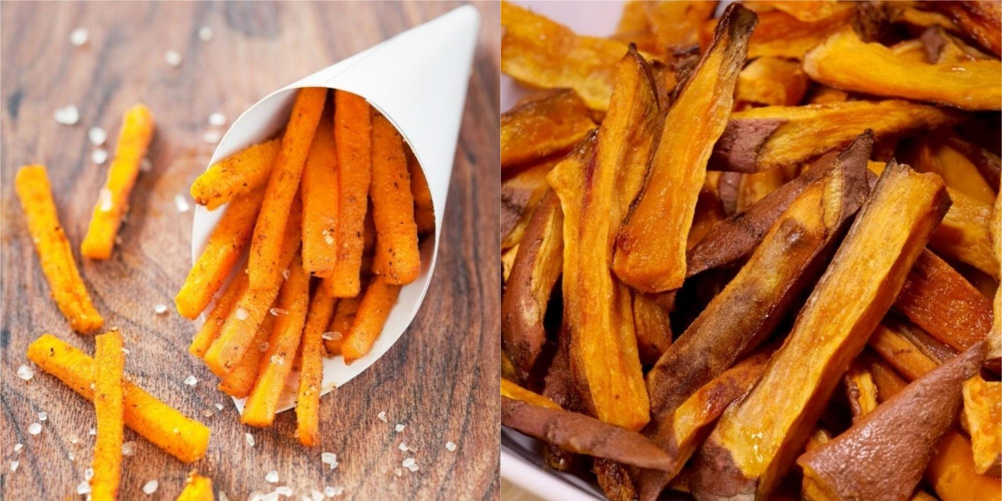 Frites de patates douces au four : une recette simple et ...