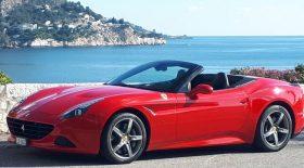 Ferrari California dégats