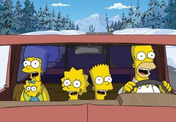 les simpson voiture