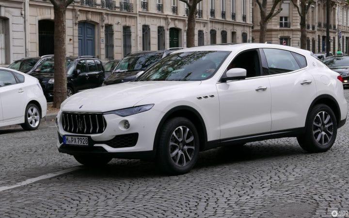 Maserati voiture crashée