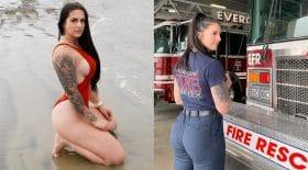 pompière licenciée