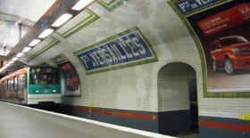 Accident au métro de Paris