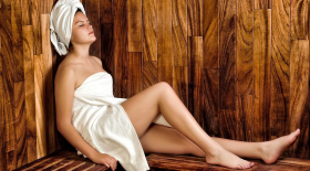 femme sauna