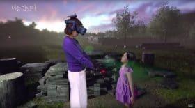 Une maman retrouve sa fille grâce à la VR