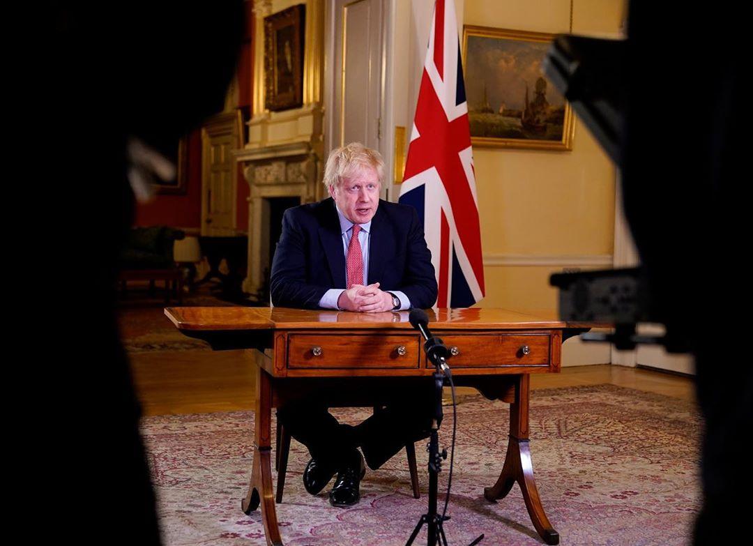 Le Premier Ministre britannique Boris Johnson est atteint par le covid-19 !