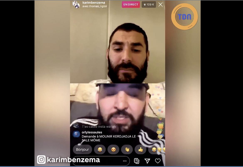 Karim Benzema craque complètement sur Instagram et clash un champion du monde. Le dérapage de trop ?
