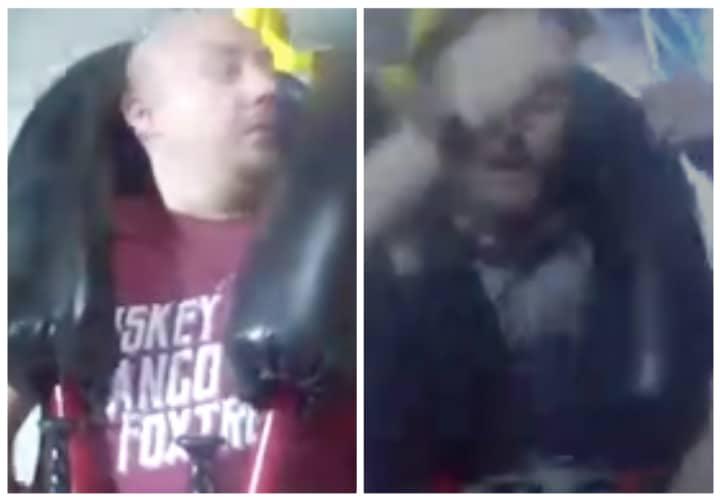 Deux copains s'évanouissent dans une attraction et c'est à mourir de rire (VIDEO)