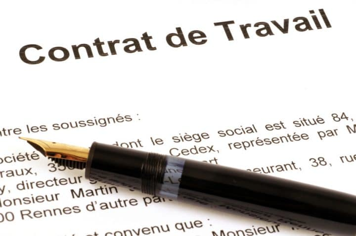 contrat de travail coronavirus