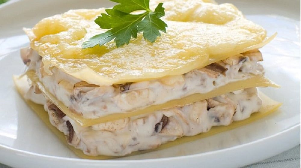 Lasagnes blanches : une version gourmande made in Italie !