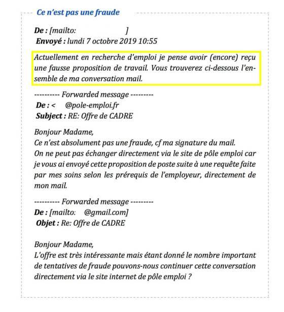 pôle Emploi Mail