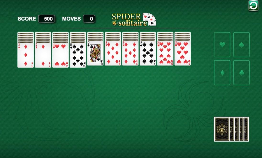 Spider Solitaire De