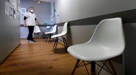 cabinets médicaux desertés