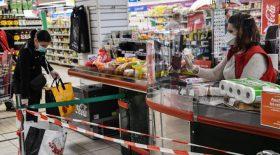 chercheurs coronavirus supermarché