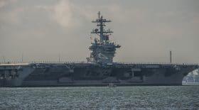 Le Coronavirus sur l'USS Theodore Roosevelt