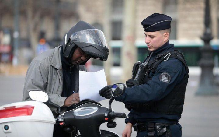 policiers amendes confinement