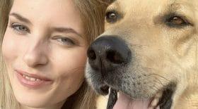 Aleksandra Prykowska défigurée par son chien