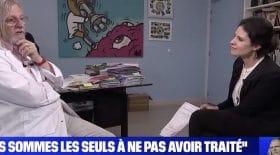 Didier Raoult dans une interview