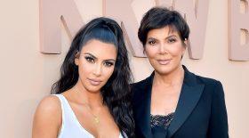 Kim Kardashian Kris Jenner photo