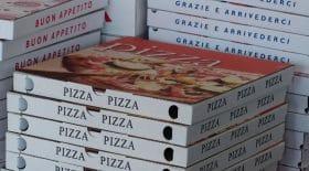boite de pizzas