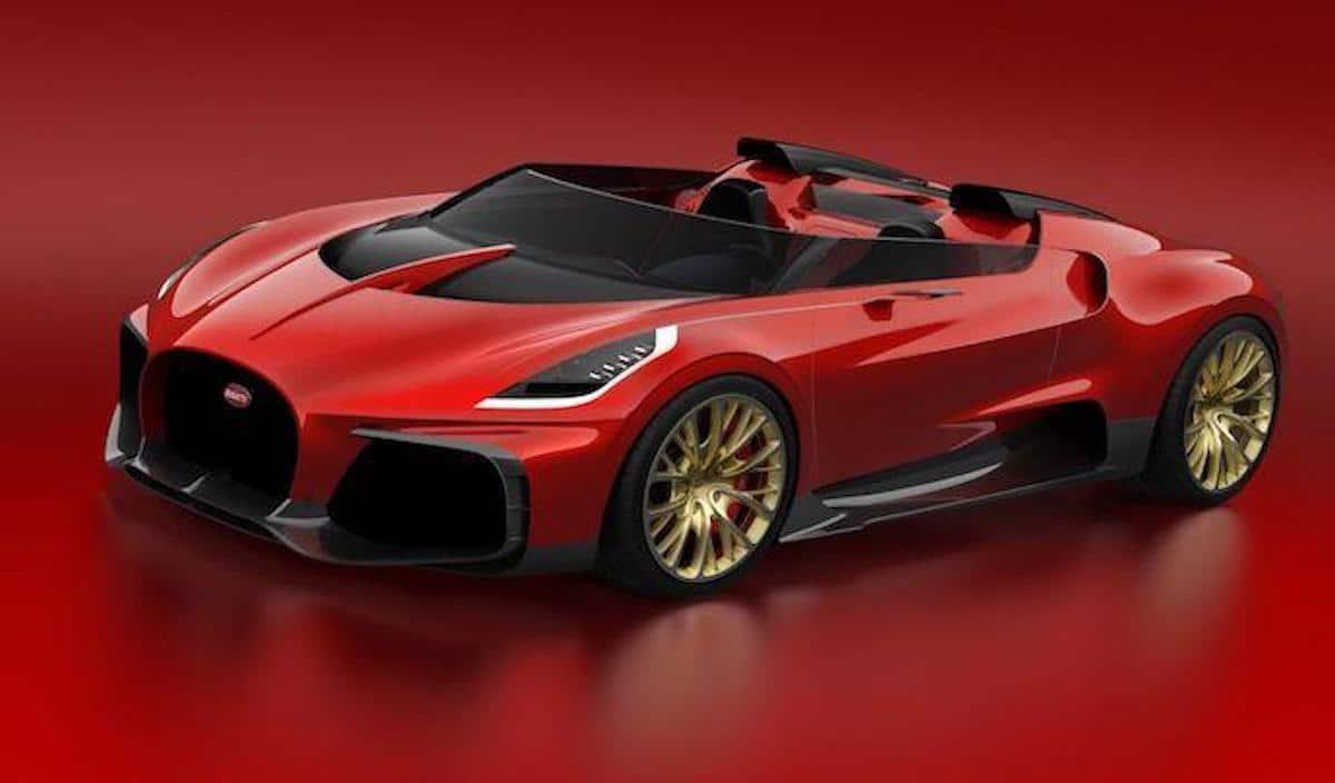 Bugatti Chiron cabriolet : une seule personne aura le droit de l'acheter !