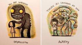 dessins troubles psychiques