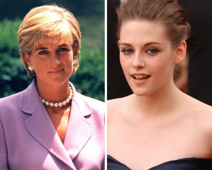 Lady Diana interprétée par Kristen Stewart