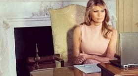 Melania Trump maison blanche