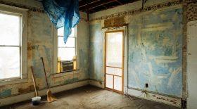 New York, maison abandonnée
