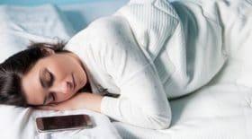 sommeil téléphone dormir