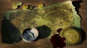trésor carte indice poème