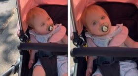 Ce bébé pense s'appeler Alexa