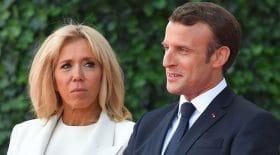 Emmanuel Macron complice Brigitte