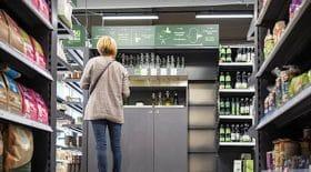 fontaine a eau supermarché