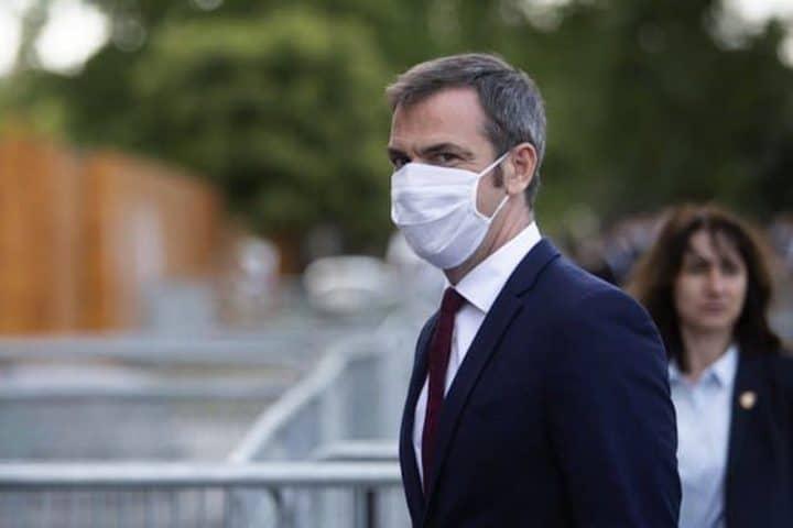 Olivier Véran masque extérieur coronavirus