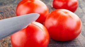 peler tomates poêle