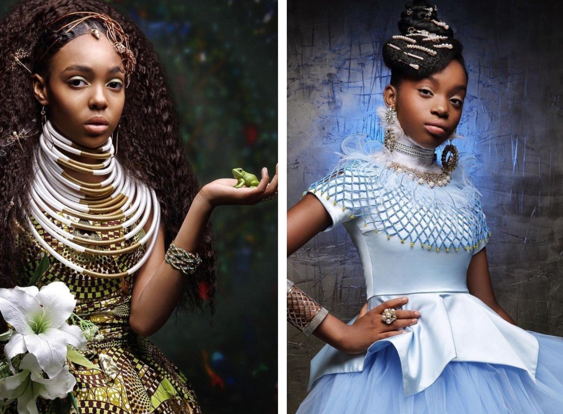 Elle imagine les princesses Disney si elles étaient Afro-américaines dans un magnifique photoshoot !