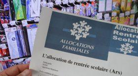 allocation rentrée scolaire familles aide