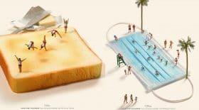 artiste objets quotidien miniatures