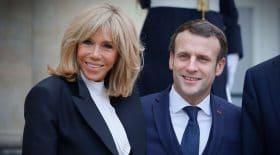 Emmanuel Macron Brigitte amoureux pizza