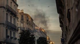 feu d'appartement