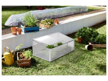 C'est le moment de vous mettre au jardinage, avec cette mini-serre de jardin Lidl
